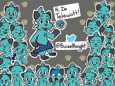062216_0001: Telegram Telewott Dewott Sticker Set by BuizelKnight