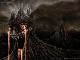 lava monster thing by AtomiccircuS