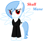 Skull Mane(Request for KanashiiBara) by ChristineKapsalaki