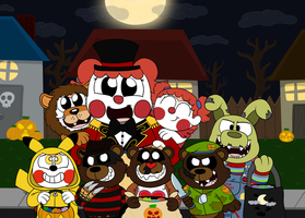 Trick Or Treat! by Rustywolf14