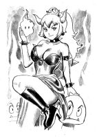 Bowsette by cluedog