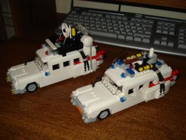 Lego Ecto-1 and -1A by Superandroid23