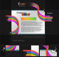 Webdesign - 'EnJoy' by CybertronicStudios