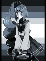 greyscale by kittidere