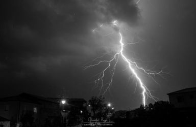 Thunder - Black and White by quentinrey
