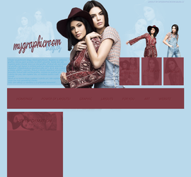 Past Layout ft. Kylie and Kendall Jenner by Katie-Salvatore