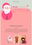Pink Santa Skin by elicoronel16
