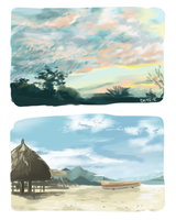 Color Studies by Days-E