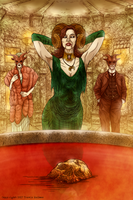 The Wine of the Fauns by WendigoMoon