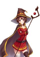 Megumin by Huksly