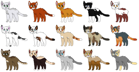 guess whos a warrior cats fan again by STAG-KING
