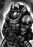 Me as Heavy Juggernaut by Daigokun