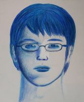 My Brother : Colored Pencils: by ManHoPark