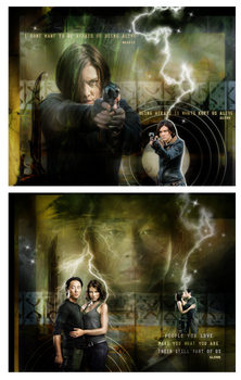 Glenn and Maggie Walking Dead Chapters by VaLeNtInE-DeViAnT
