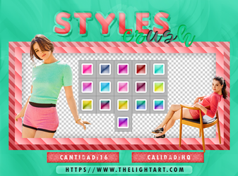 STYLES CANDY|PACK by ThelightartOFC