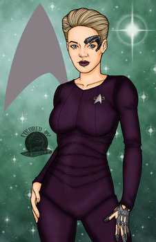 Seven of Nine by Blackmoonrose13