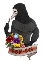 SCP-049 Banner by RoslynnSommers