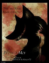 Protege-Moi Cover by MadCheshireFox