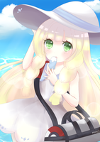 Alola Lillie by Moonx3