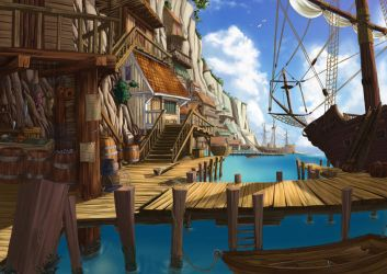 pirats town by jamga