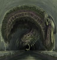 Sewer Beast by Lizzy-John