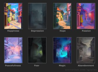 Emotions through Colors by sweptaway91