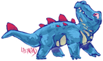 Totodile by Galvan1c-Miscr3ation
