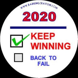 Trump Button by Conservatoons