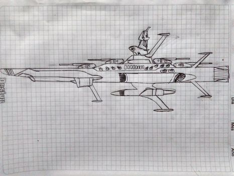 Earth Federation Andromeda Class Space Battleship by Flyingtaco2002