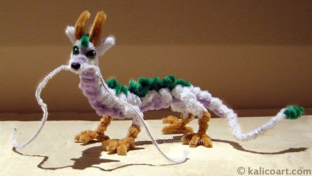 Haku -- Pipe Cleaners by kalicothekat