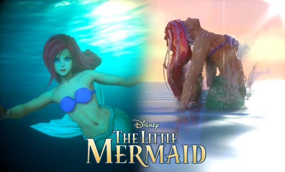 Ariel (The Little Mermaid) for XPS! by CaressingCarrots