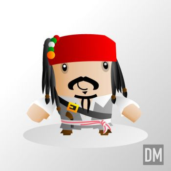 Jack Sparrow by DanielMead