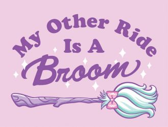 My Other Ride Is A Broom by katiesketch