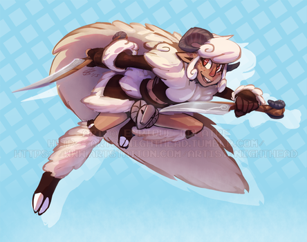 Sheep Girl Rogue by NightHead
