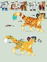 January Adoptables by Yesterday-Torrey