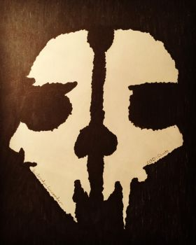 Call Of Duty Ghosts Logo by ScabOfTriton