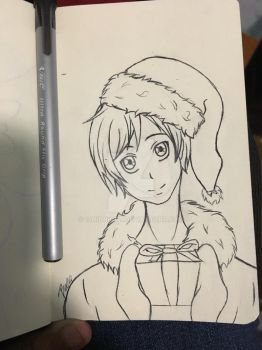 CDC 2: Hetalia santa Finland by 13Midnight