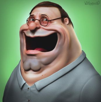 Peter Griffin by 90swil