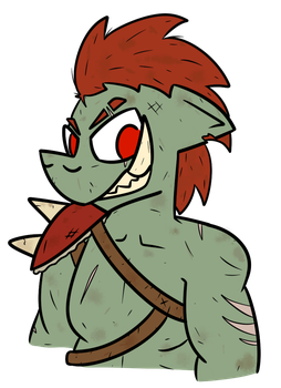 Just an Orc by Kev-Dee