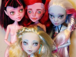 monster high doll repaint group by hellohappycrafts