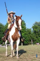 Buffalo Bill at Buffalo Bills Wild West 7/26/2014 by Crigger