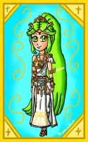 My Palutena design by ninpeachlover