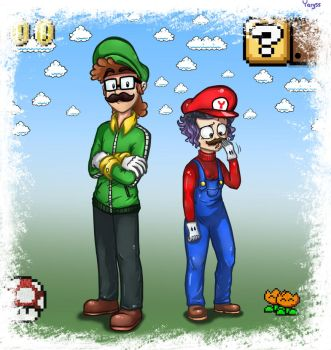 Two plumbers by Yary55