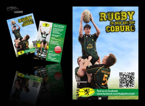 Rugby TGN Flyer by creativeIntoxication