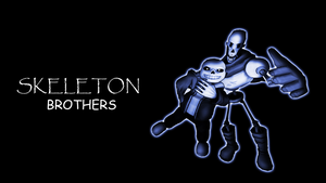 Skeleton brothers wallpaper [Undertale SFM] by LukasDeAudi