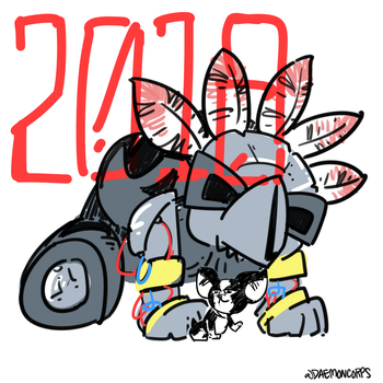 year of the IGGY by DaemonCorps