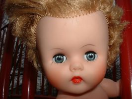 doll at playground 2 by JensStockCollection