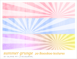 summer grunge by Bourniio