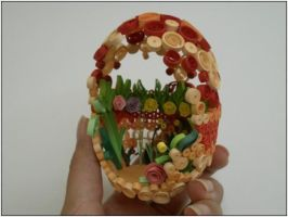Quilled Egg by 3annabah