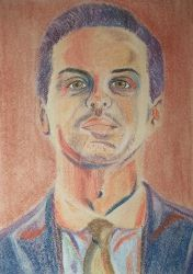 Jim Moriarty from Sherlock BBC by natallymp